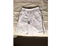 Babolat Match Performance Boys X-Long Shorts (White-Black) 10-12 years