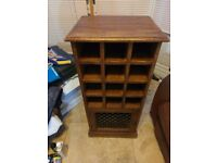 Indian Wood wine cabinet