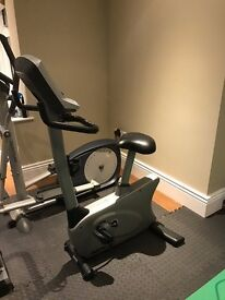 Vision U20 Upright Stationary Bike with Classic Console £250.00 ONO for quick sale