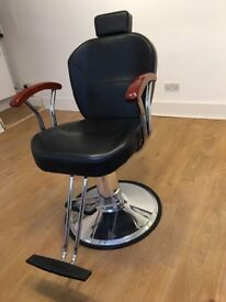 Like new barber/threading chair for sale