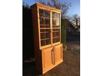 Victorian pine farmhouse cupboard