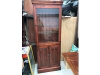 Stained pine cabinet FREE DELIVERY PLYMOUTH AREA