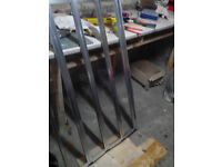 Good quality used over bath shower screen (folds down)