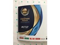 ICC CHAMPIONS TROPHY- PLATINUM TICKETS X 4