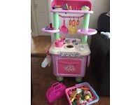 ELC kids kitchen with lots of accessories