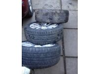 Ford Transit Connect Mondeo Focus 16 inch alloy wheels need refurbished