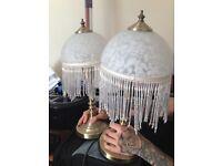 Pair of lamps.