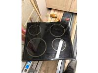 Electrolux electric 4 ring glass hob
