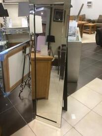 NEW all glass cheval mirrors