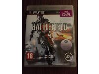 PS3 Battlefield 4 Game
