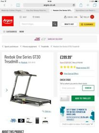 Reebok series one GT 30 treadmill