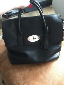 Genuine Mulberry backpack Cara Delevingne Lge in black