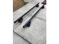 Exodus roof bars for roof rails