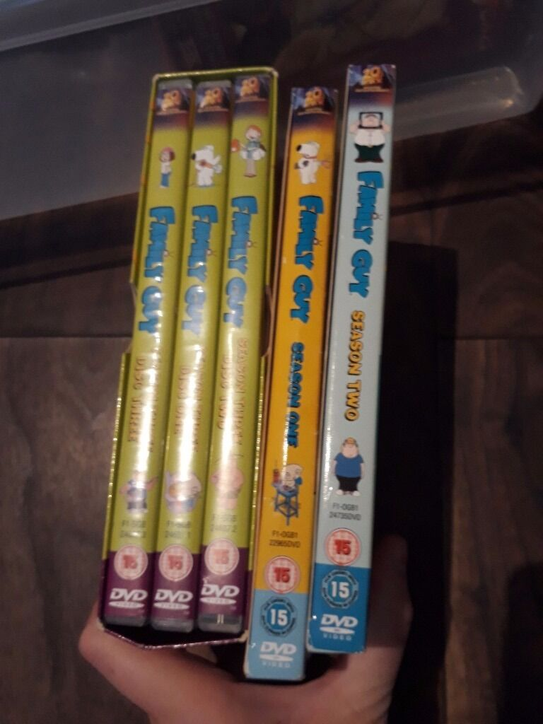 Family guy seasons 1 6in North Shields, Tyne and WearGumtree - Family guy seasons 1 6 on dvd. Can deliver locally. £2 each or £10 for all