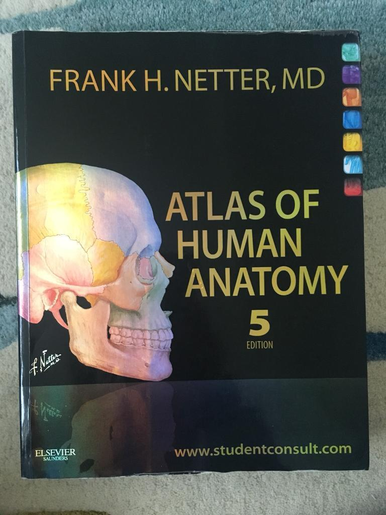 Netters Atlas Of Anatomy 5th Edition In Didsbury Manchester
