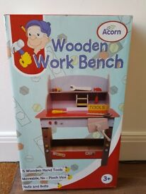 Wooden Work Bench - Brand New in Box