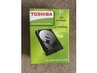Toshiba E300 2TB internal hard drive