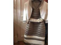 Luis Civit Dress and Jacket