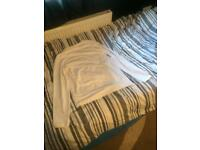 Men white long sleeve river island top