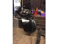 Black GP saddle