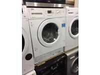 Integrated built in washing machine**NEW** 8kg- £189.99 / 7kg- £169.99 warranty included Graded