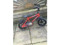 12 inch red kids bike