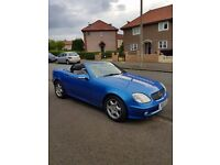 Mercedes slk convertible. Immaculate condition
