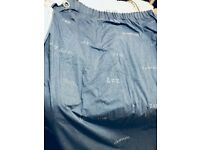 Lovely M&S blue bedroom curtains (boy or girls room)