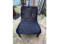Single Black Chair