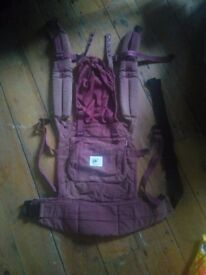 Ergo baby carrier (used, with manual)