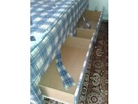 4 Drawer Divan Double Bed - DELIVERY AVAILABLE