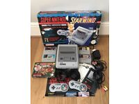 Super Nintendo SNES Console Boxed PAL AMAZING CONDITION First If My Collection