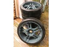 "22"" Alloy wheels and tyres - Came off Nissan Navara"
