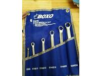 Boxo female torx spanners