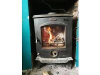 Horse Flame Log Burner/multi fuel