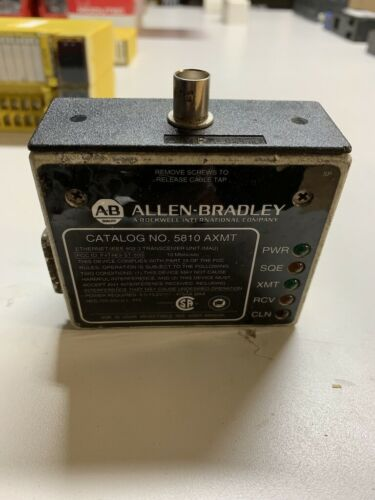 ALLEN BRADLEY 5810-AXMT ETHERNET/IEEE 802.3 TRANSCEIVER UNIT  W534