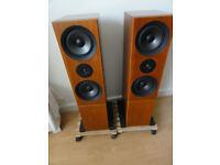 Linn Keilidh speakers With Ku-Stone Stands well love and cared