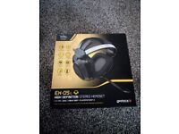 High definition stereo headset