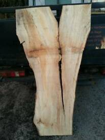 4ft spalted beech