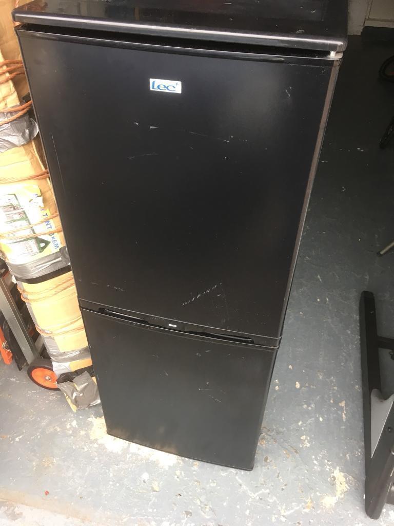 Lec upright fridge freezer