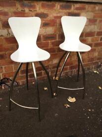 The Chair Company swivel bar stools