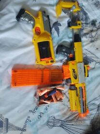 Two nerf guns and over 40 bullets