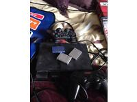 PlayStation 2 console games and controllers