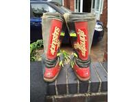 Men's motor cross boots