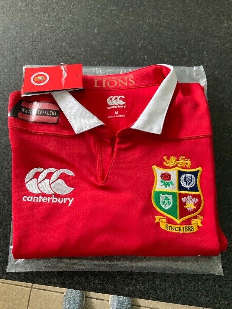 02c38c14889 New British & Irish Lions Canterbury Rugby Shirt - Medium - Only £15 ...