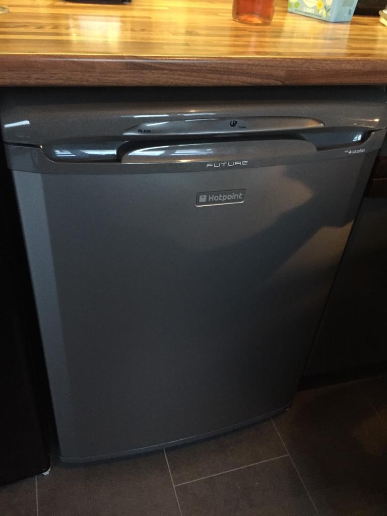 Brand new Hotpoint graphite grey fridge
