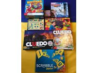 Bundle of childrens board games