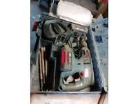 Bosch 36v hammer drill in case