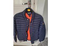 Boys tommy Hilfiger navy jacket