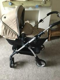 Silvercross Wayfarer Travel System with Isofix Base £400 ONO